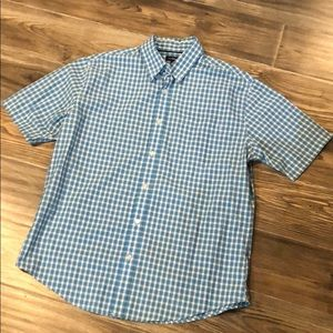 Casual Men's Plaid Buttoned Shirt